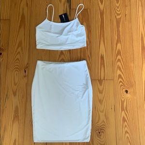 NWT Fashion Nova Two Piece Set (size medium)